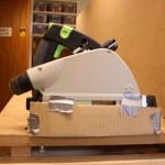 TS55 with cardboard