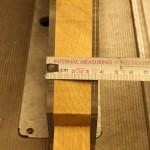 Blade guard width